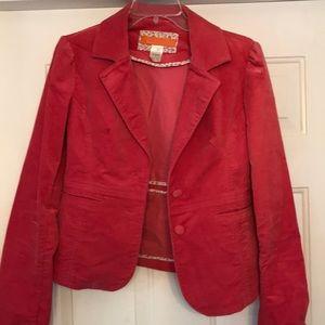 Valentine's Day pink blazer L